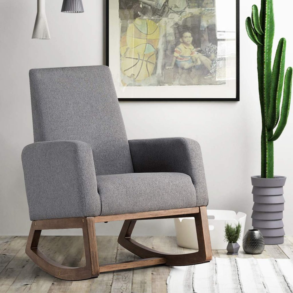 Brilliant The Most Comfortable And Modern Nursery Chairs You Need In Theyellowbook Wood Chair Design Ideas Theyellowbookinfo
